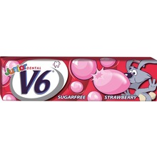 V6 - Bubblegum Strawberry 22 G