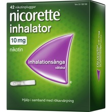Nicorette Inhalator - Inhalationsånga med nikotin, vätska 10 mg, 42 st