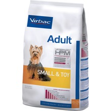 Virbac Veterinary HPM Adult Dog Small & Toy - Friskfoder till vuxna små hundar. 7 kg