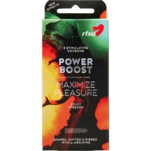 RFSU Power Boost - Kondomer med extra allt 8-pack