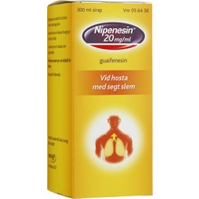 Nipenesin - Sirap 20 mg/ml 300 milliliter