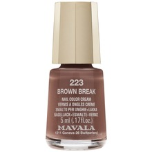 Mavala Minilack Brown Break - Nagellack. 5 ml