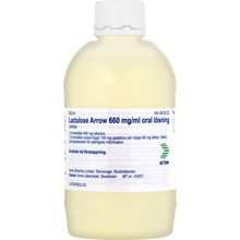 Lactulose Arrow - Oral lösning 660 mg/ml Laktulos 500 milliliter
