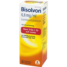 Bisolvon - Oral lösning 0,8 mg/ml 125 milliliter