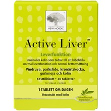Active Liver tabletter - För normal leverfunktion. 30 st