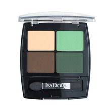 Isadora Eye Shadow Quartet - 23 Neo Mint, Ögonskugga