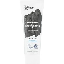 The Humble Co. - Tandkräm Fluor Natural Charcoal 75 ml