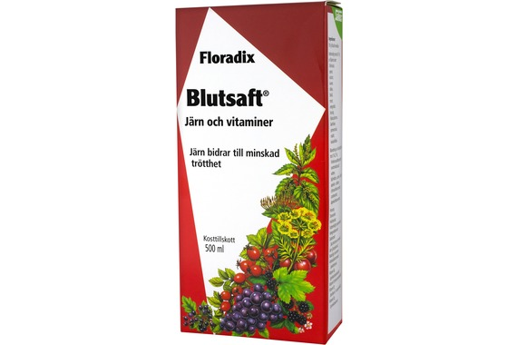 Blutsaft - stor flaska