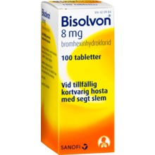 Bisolvon - Tablett 8 mg 100 tablett(er)