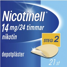 Nicotinell - Depotplåster 14 mg/24 timmar, 21 st