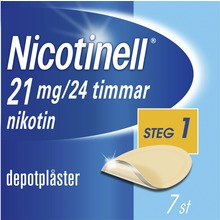 Nicotinell - Depotplåster, 21 mg/24 timmar, 7 st