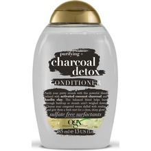 OGX Charcoal Detox Conditioner - Purifying+ Balsam. 385 ml.