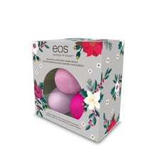 eosOrganic Smooth Sphere lip balmsTriokit 2016