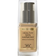 Max Factor - Healthy Skin Harmony Foundation 75 Golden 30 ml