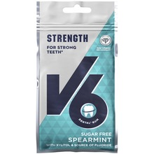 V6 - Strong Teeth Fluor Spearmint 30 G