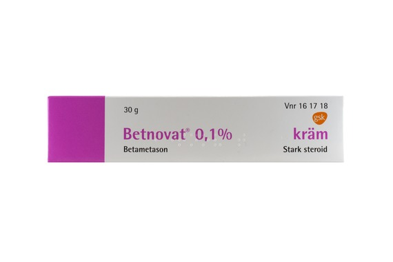 betnovat med chinoform salva
