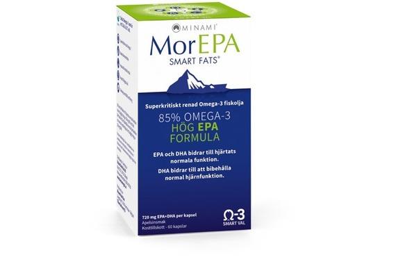 MorEPA Högkonc Omega-3 60 kap