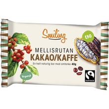 Smiling - Kakao/Kaffe bar 40 g