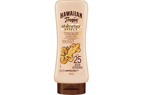 Shimmer Effect Sun Lotion SPF25