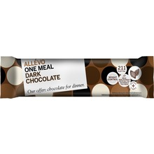 Allévo Dark Chocolate - One Meal. Måltidsersättning bar. 57 g