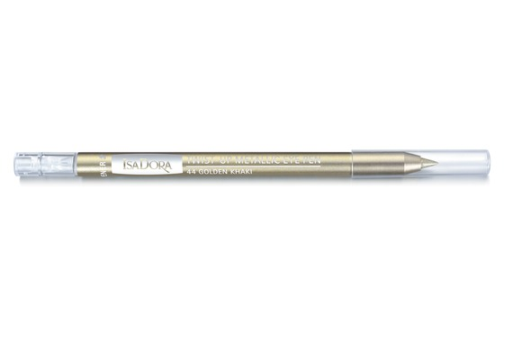 Metallic Eye Pen Golden Khaki