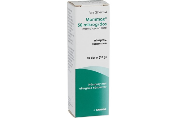 nässpray med kortison
