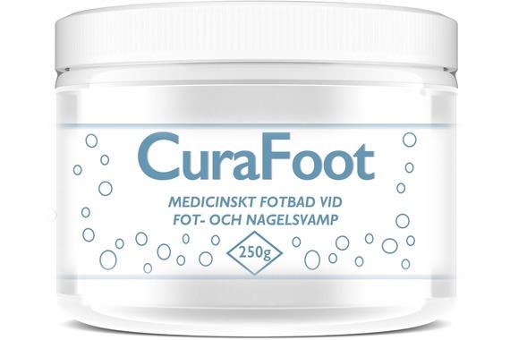 CuraFoot Medicinskt fotbad 250g