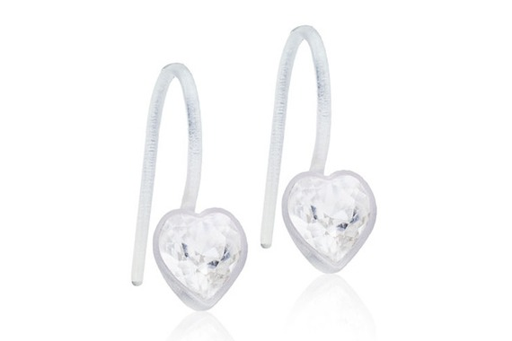 MP Pend Heart Crystal 4/6mm